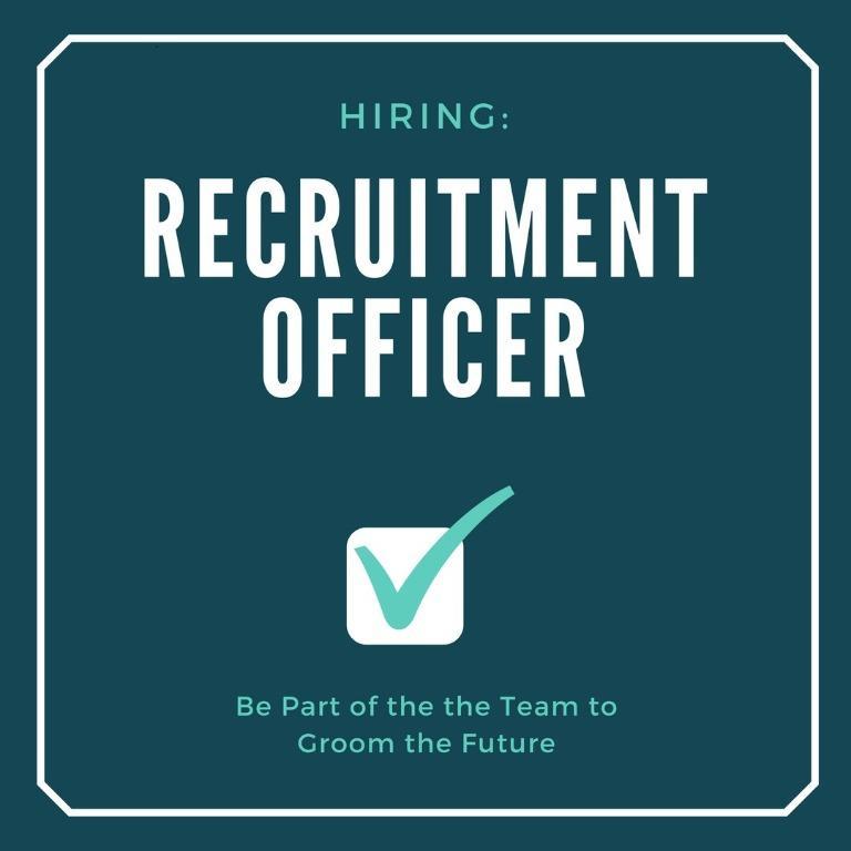 Recruitment Officer (Part time/Full Time)