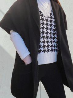 Talula wool poncho