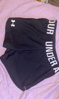 Under armour workout booty shorts