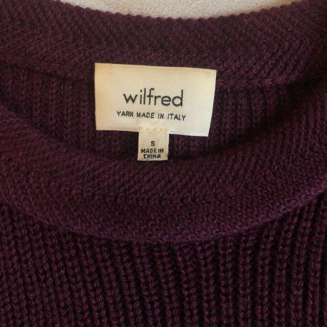 Wilfred Italian Yarn Sweater