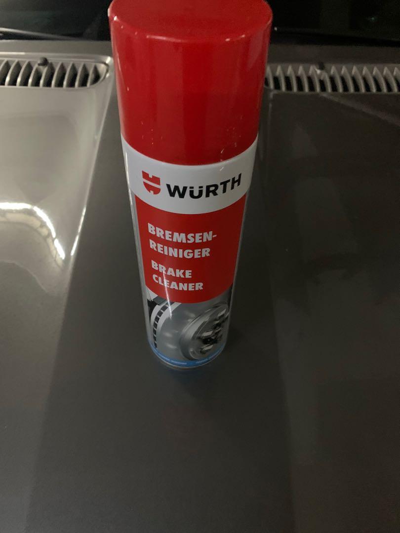 【WURTH 福士】Brake  Cleaner、煞車盤清潔劑、500ML