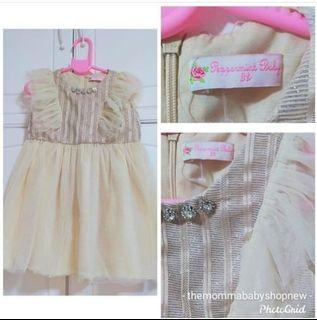 499 only! Good as New Peppermint dress! Fits 3T and below!