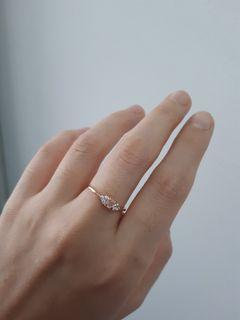 925 silver rose gold