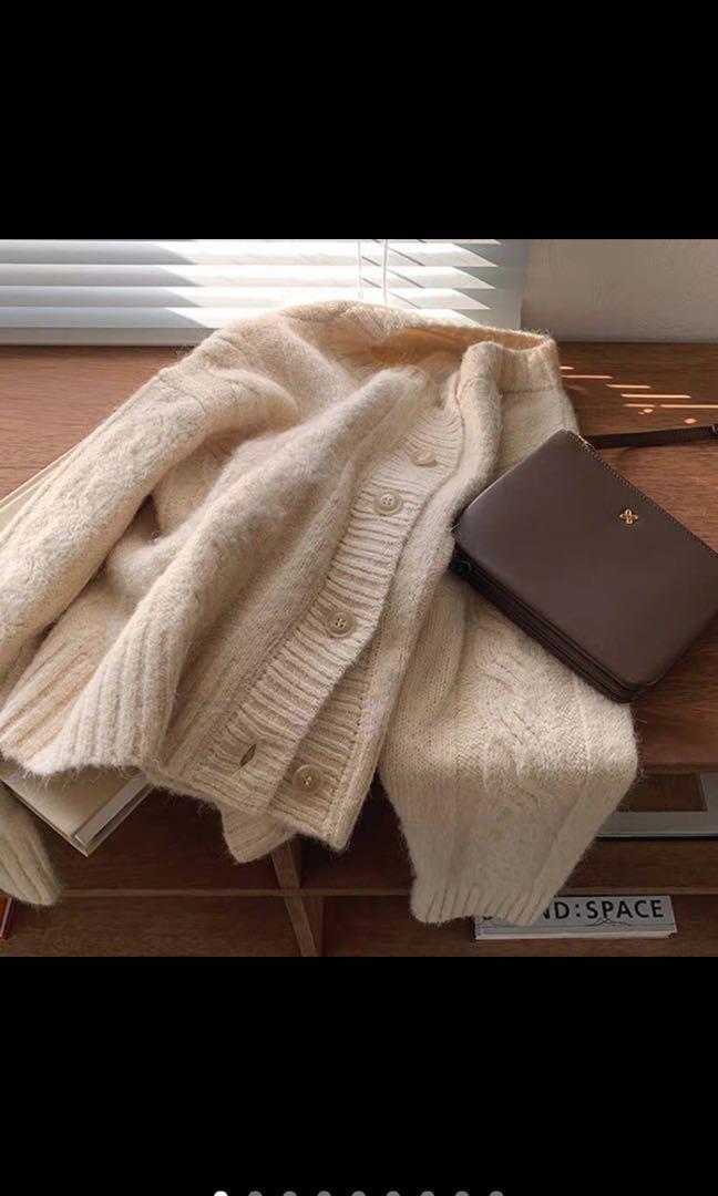 「預購」溫柔慵懶針織外套