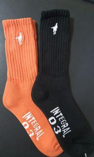 造型運動襪 買黑 送橘