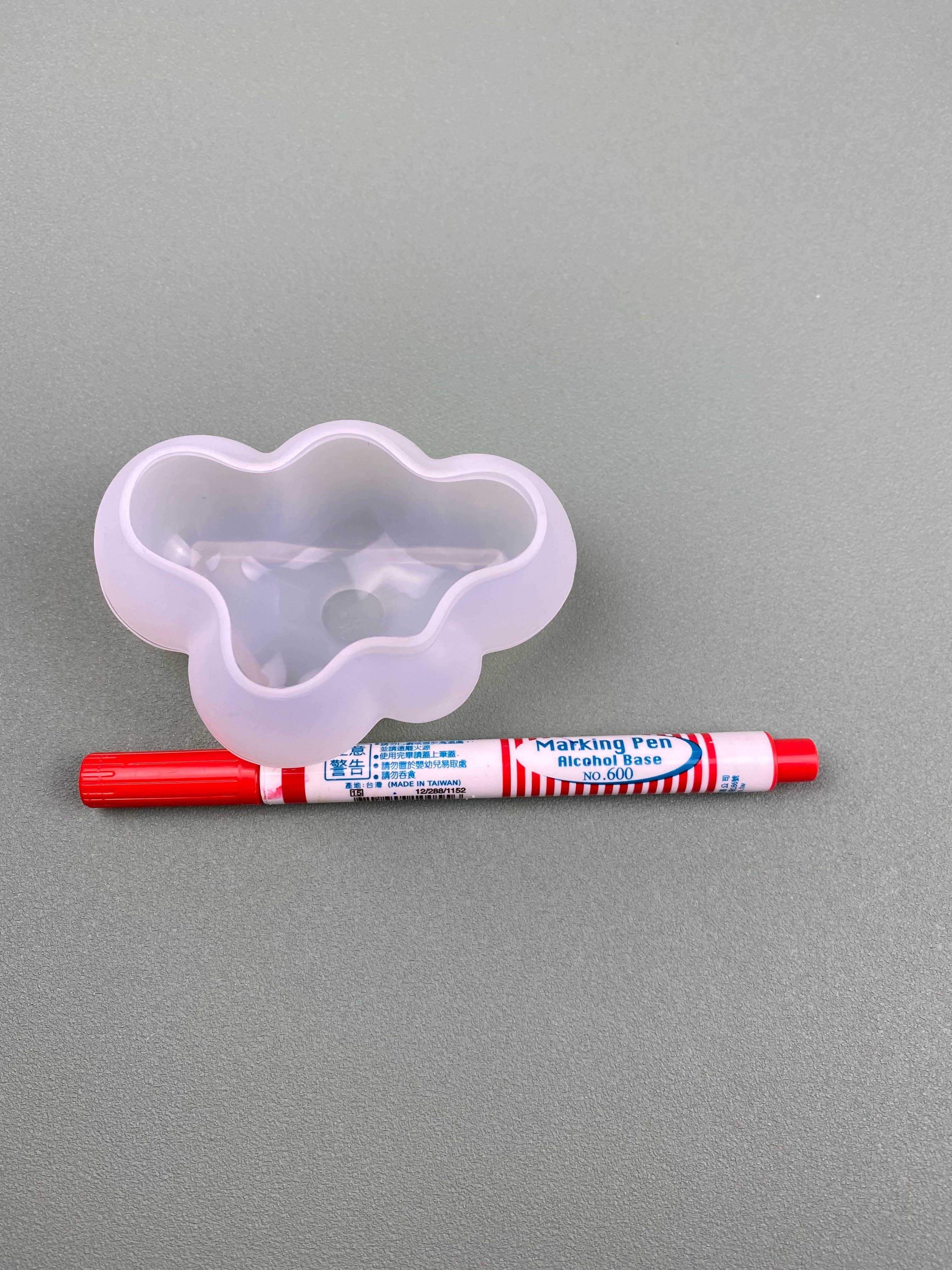雲朵 模具 大 矽膠模具 手工皂 MP皂 水晶滴膠模具 全新