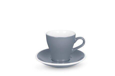 AMCE & Co Tulip Cup 鬱金香型咖啡杯盤 Dolphin Grey 170ML