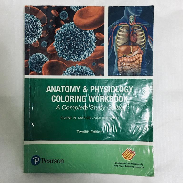 SHS Book: Anatomy And Physiology Coloring Workbook, Books, Books On  Carousell