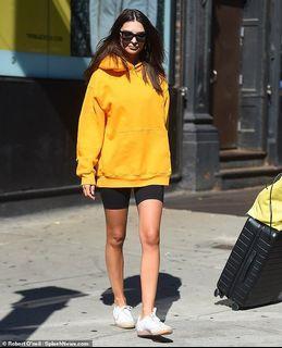 Aritzia Tna yellow boyfriend hoodie