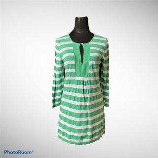 (3 for 200) Banana Republic Mini Striped Knit Dress (w/ flaw)