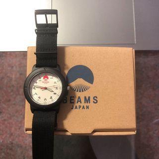 BEAMS 手錶 日本製 天干地支