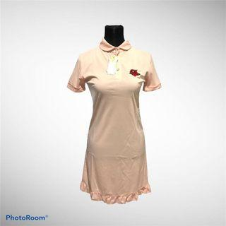 (3 for 500) BNWT Embroidered Shirt Dress
