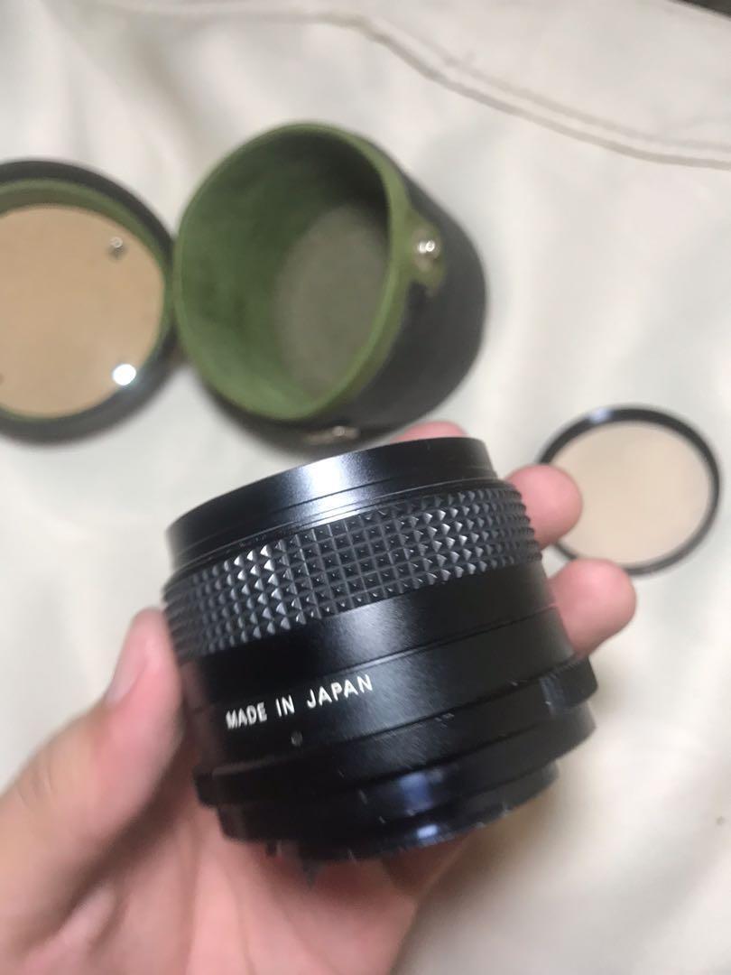 CIMKO compact mc 35 mm lens (rare brand )
