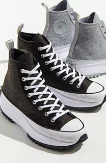 Converse Run Star Hike High-Top Sneaker   正品代購 厚底帆布鞋 百搭經典款
