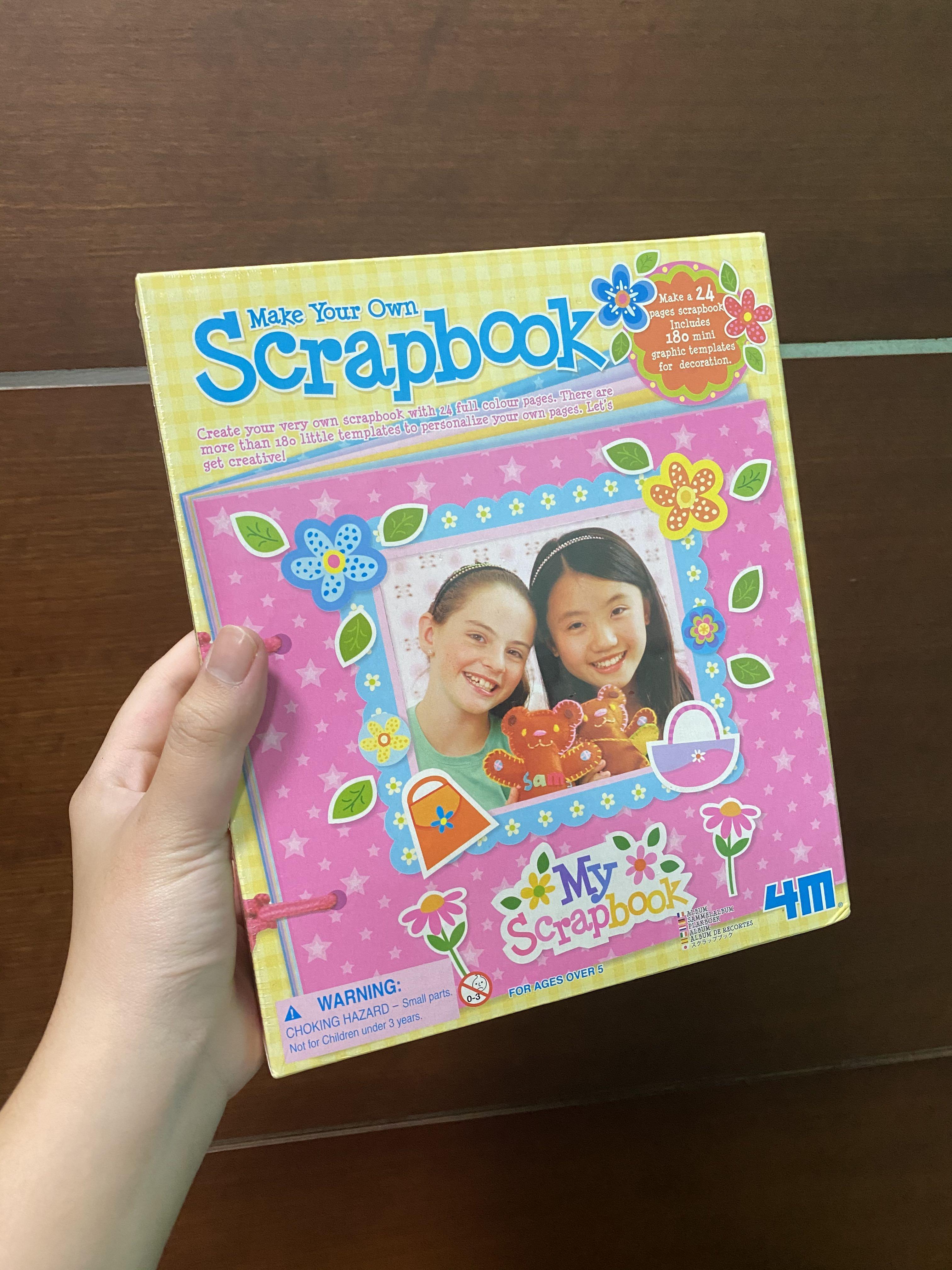 DIY Scrapbook Kit - craft untuk anak