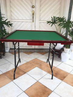 Foldable Mahjong Table (wood)