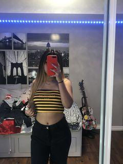Forever XXI crop 🐝