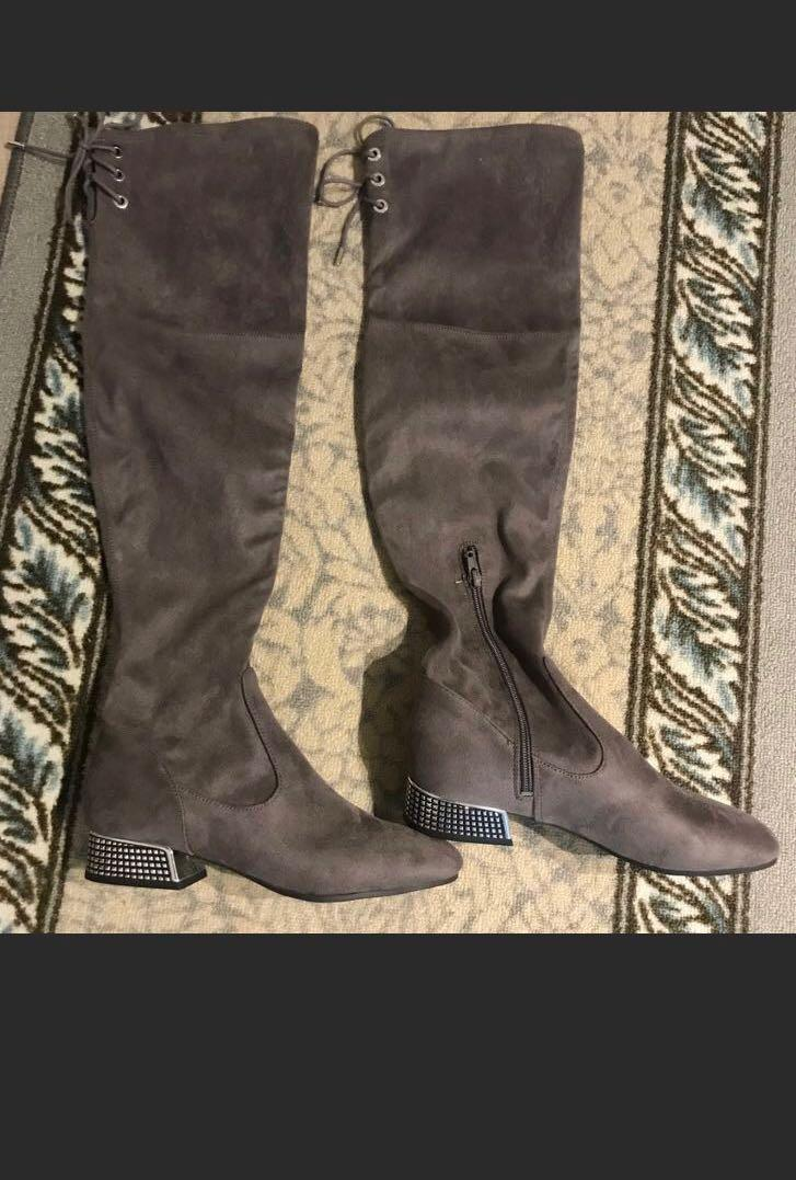 Guess Rhinestones over the knee boot