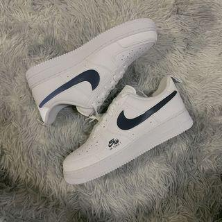 Nike Air Force 1 White Navy Reflective