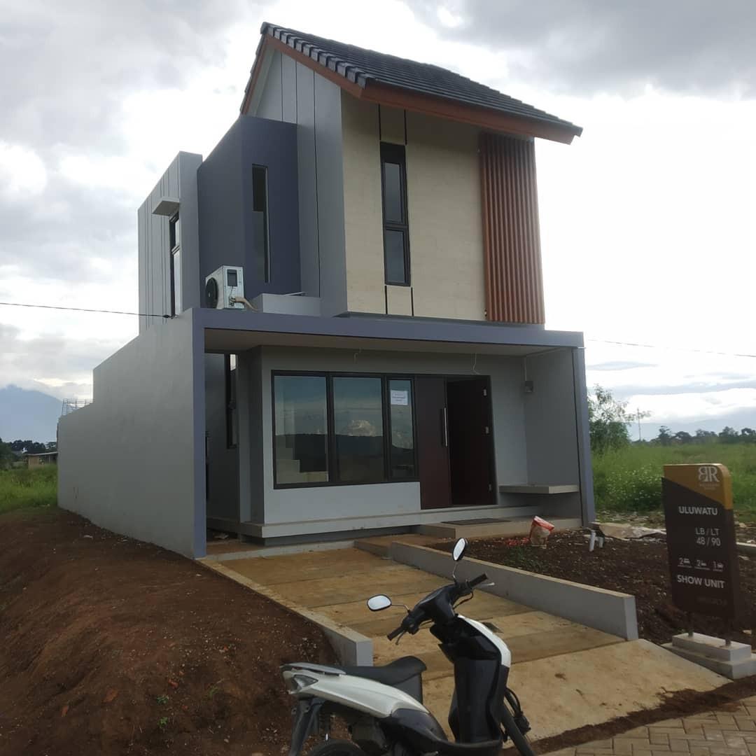 Rumah 2 lantai murah banget Deket toll free biaya lainnya