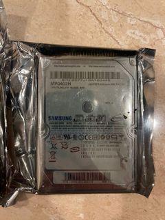 """Samsung Internal 40GB 2.5"""" HDD"""