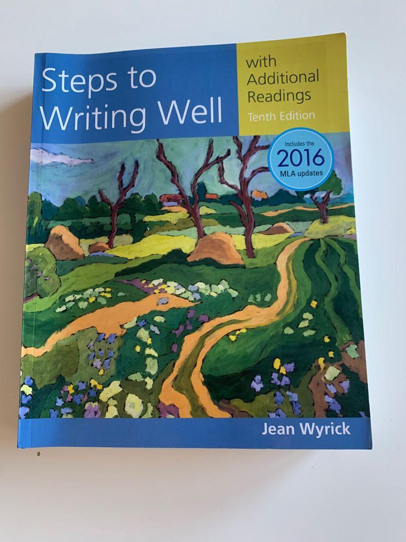 Steps to writing well - 10th Edition