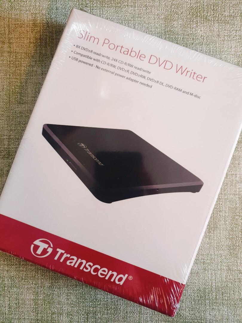 【Transcend】創見 TS8XDVDS-K 燒錄機 USB外接式 超薄型 光碟機