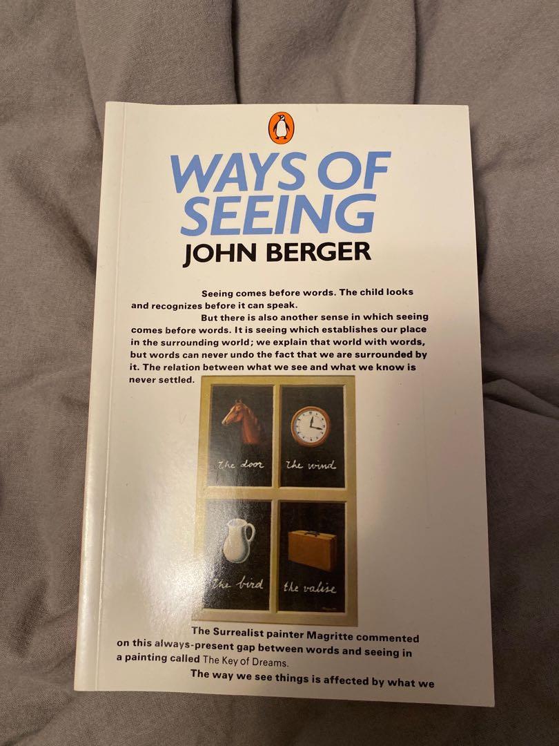 WAYS OF SEEING JOHN BERGER