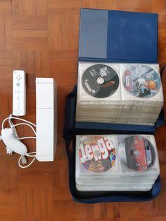 Wii 遊戲機 全套已改可玩開心碟