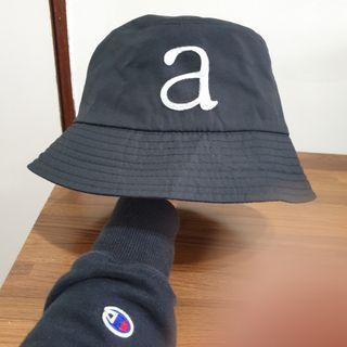 日系韓製漁夫帽#黑帽#遮陽