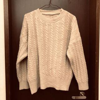 淺咖啡色毛衣