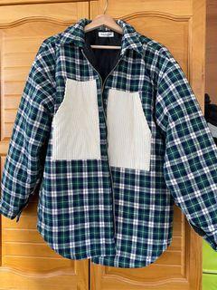 韓國格子外套