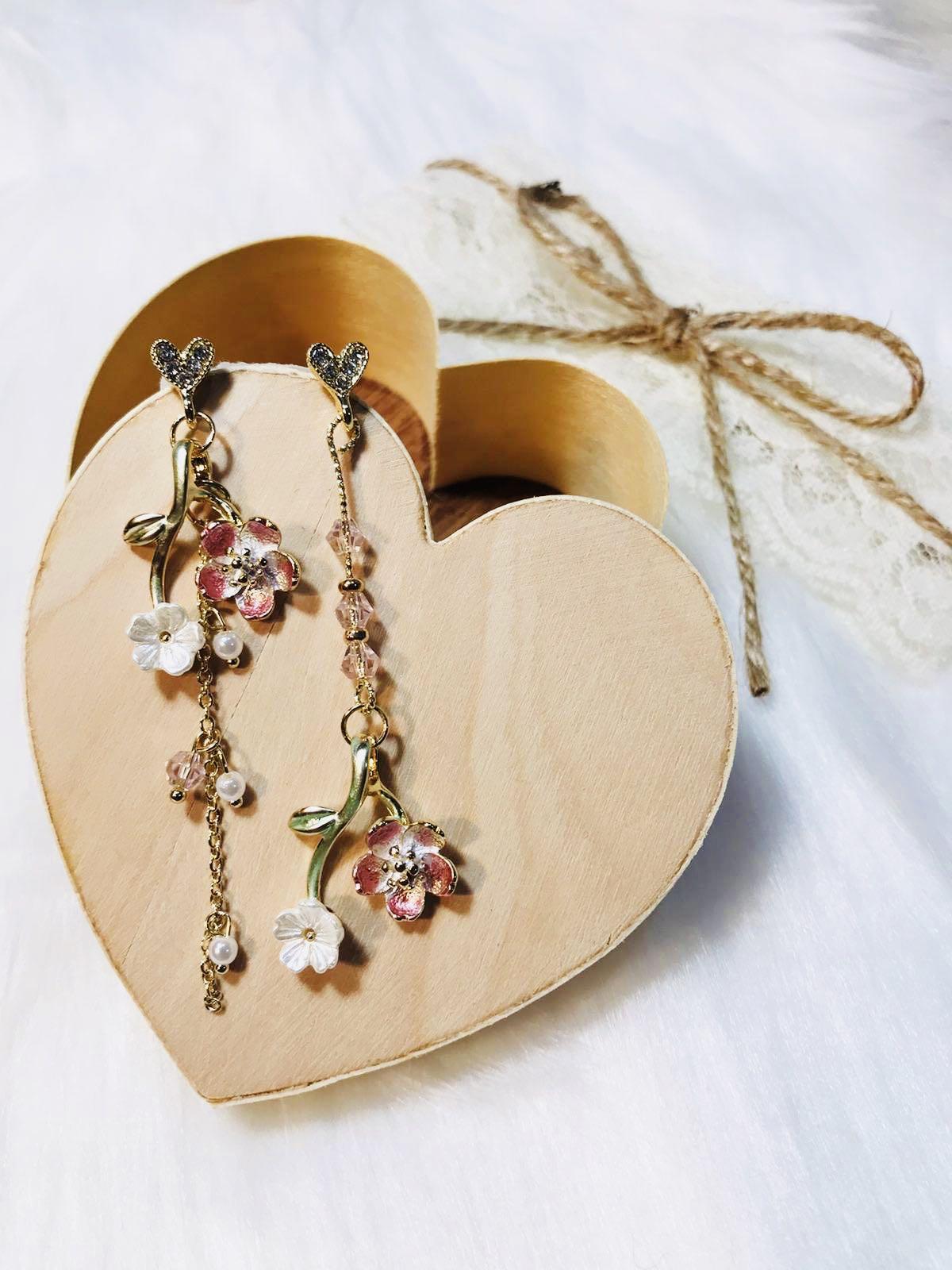 ღ Cherry Blossom Earrings