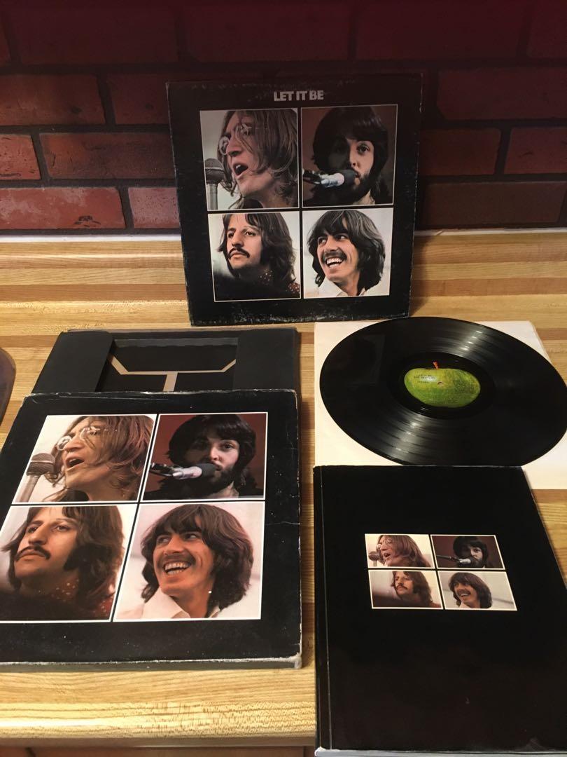 Album THE BEATLES-LET IT BE-BOX SET