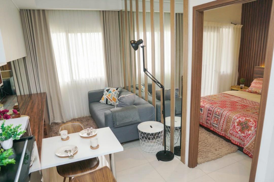Apartement yang dibangun dengan pendekatan konsep TOD (Transit Oriented  Development) di Sentul City.