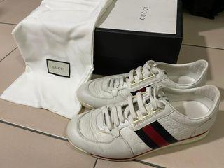 (Authentic) Gucci leather sneakers