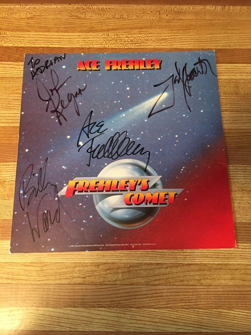 Autograph ACE FREHLEY(KISS) FREHLEYs COMET