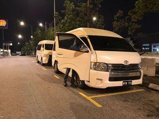 city tour / airport transfer / airport van / van rental / handsomedriver