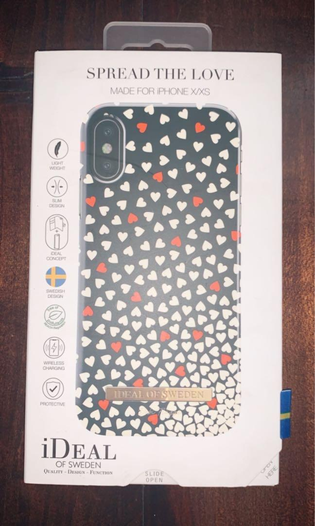 Ideal of Sweden Spread the Love case for iPhone X/XS