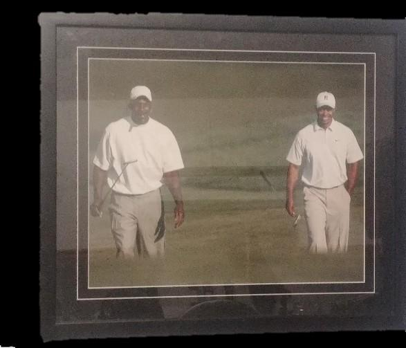 Jordan /Wood's  framed picture