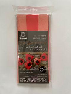 Lia Griffith Double Sided Crepe Paper Free Shipping