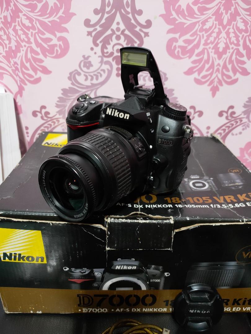 Nikon D7000 DSLR FHD Video Presentable Unit For Photography and Vlogs