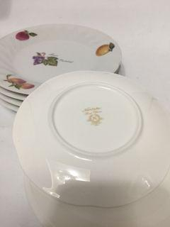 noritake small plates set