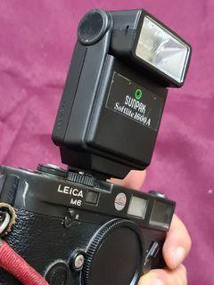 Sunpak Softlite 1600A Compact Automatic Bounce Flash Leica M
