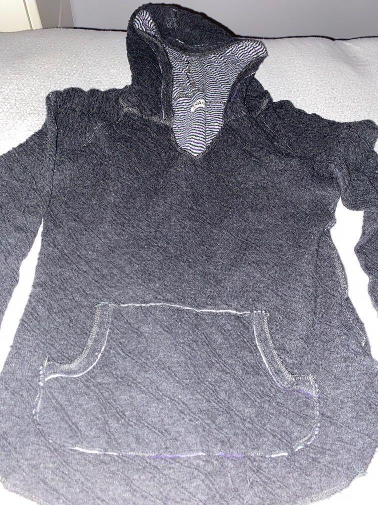 TNA hooded shirt