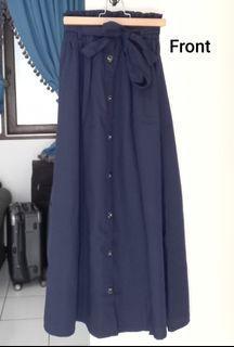 Vintage Dark Blue Skirt