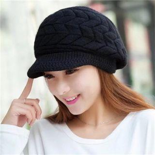 鴨舌帽毛線帽