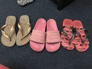 Adidas & Havaianas slipper