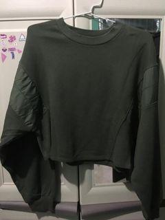 bershka oversize crop sweater