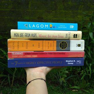 Buku import preloved chat for prices